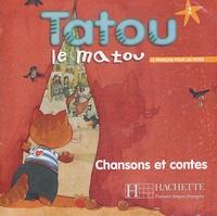 Elisa Chappey - Tatou le matou 2 - CD audio Chanson et contes.