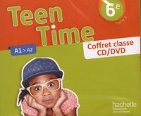 Christophe Poiré - Teen Time 6e A1>A2. 1 DVD + 3 CD audio