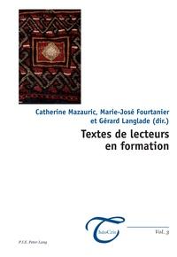 Catherine Mazauric - Textes de lecteurs en formation.