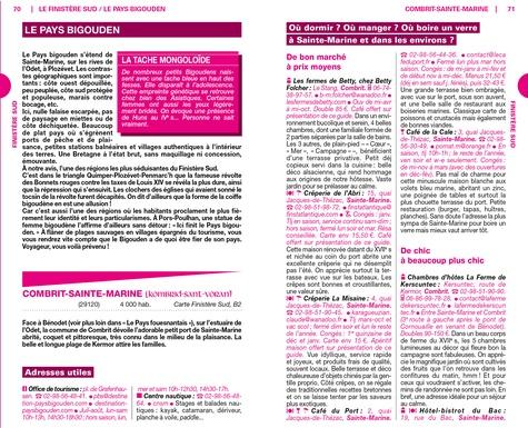 Bretagne Sud  Edition 2020 -  avec 1 Plan détachable