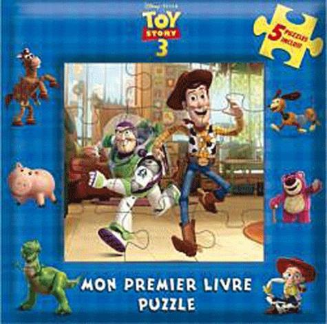 Hachette - Toy story 3 - Mon premier livre puzzle.