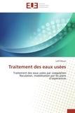 Lotfi Mouni - Traitement des eaux usées - Traitement des eaux usées par coagulation floculation, modélisation par les plans d'expériences.