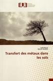 Lotfi Mouni et Djoudi Merabet - Transfert des métaux dans les sols.