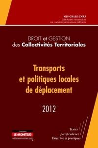 GRALE - Transports et politiques locales de déplacement.