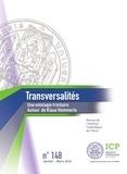 Camille Riquier - Transversalités N° 148, janvier-févr : Une ontologie trinitaire - Autour de Klaus Hemmerle.