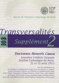 Olivier Artus - Transversalités Supplément 2 : Doctorats Honoris Causa.