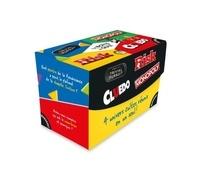 Hasbro - Trivial Pursuit, Monopoly, Risk, Cluedo.