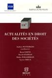Andrée Puttemans et Koen Geens - UB3 Tome 9 : Actualités en droit des sociétés.