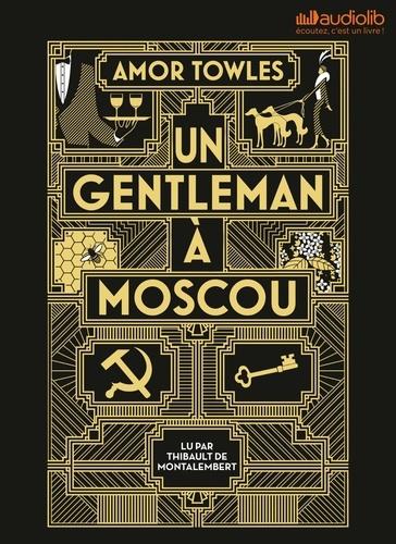 Un gentleman à Moscou  avec 2 CD audio MP3