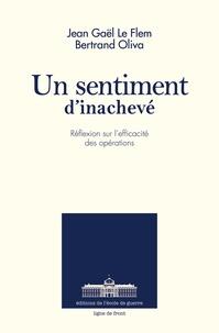 Bertrand Oliva et Jean-Gaël Le Flem - Un sentiment d'inachevé - Réflexion sur l'efficacité des opérations.