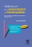 Alain Horvilleur - Vademecum de la prescription en homéopatie.