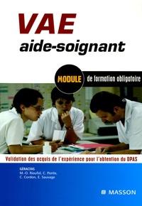 GERACFAS - VAE aide-soignant - Module de formation obligatoire Validation des acquis de l'expérience pour l'obtention du DPAS.