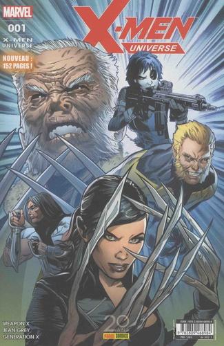 Alain Guerrini - X-Men Universe N° 1, Novembre 2017 : Duo de choc.