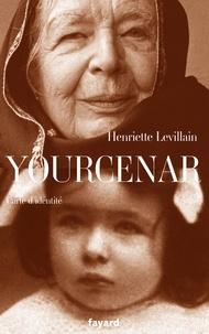 Henriette Levillain - Yourcenar - Carte d'identité.