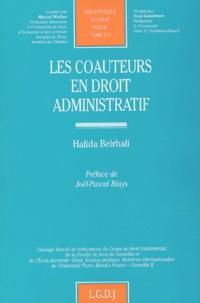 Hafida Belrhali-Bernard - Les coauteurs en droit administratif.