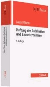Haftung des Architekten und Bauunternehmers.