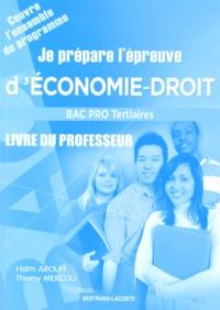 Je prépare lépreuve déconomie-droit au Bac Pro tertiaire - Livre du professeur.pdf