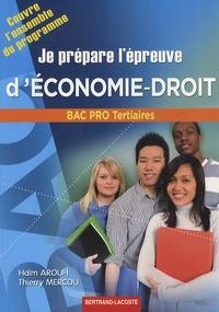 Checkpointfrance.fr Je prépare l'épreuve d'économie-droit bac pro tertiaires Image