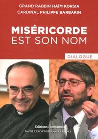 Haïm Korsia et Philippe Barbarin - Miséricorde est son nom - Dialogue.