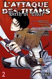 Hajime Isayama et Hikaru Suruga - L'attaque des titans : birth of Livaï Tome 2 : .