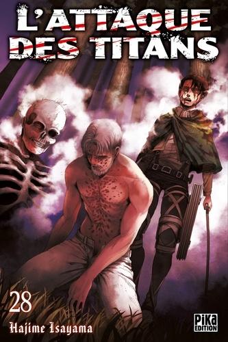 Hajime Isayama - L'Attaque des Titans T28.