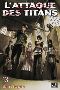 Hajime Isayama - L'attaque des titans Tome 13 : .