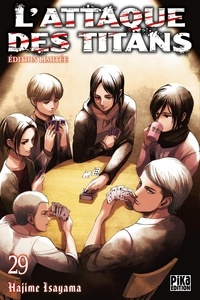 Hajime Isayama - L'attaque des titans Tome 29 : Avec une jaquette réversible et 1 calendrier 2020 offert.