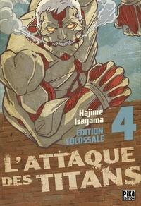 Deedr.fr L'attaque des titans Tome 4 Image