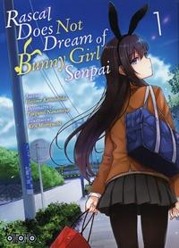 Hajime Kamoshida et Tsugumi Nanamiya - Rascal does not dream of bunny girl senpai Tome 1 : .