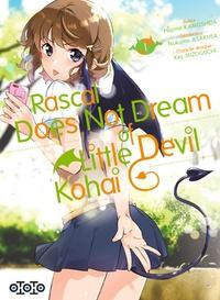 Hajime Kamoshida et Tsukumo Asakusa - Rascal does not dream of little devil kohai Tome 1 : .