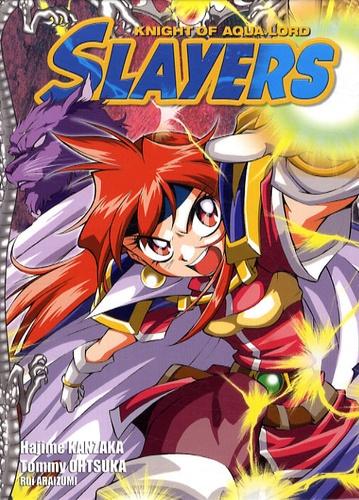 Slayers The Knight of Aqua Lord Tome 1 Avec un coffret - Hajime Kanzaka