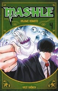 Hajime Komoto - Mashle Tome 4 : Avec un livret découverte Kaiju.