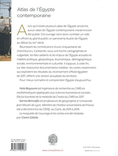 Atlas de l'Egypte contemporaine