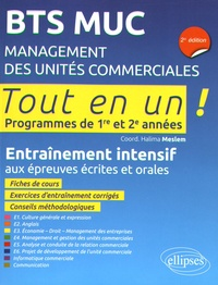 Histoiresdenlire.be BTS MUC Management des unités commerciales - Entraînement intensif aux épreuves écrites et orales Image