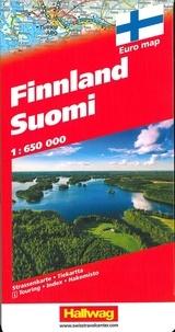 Hallwag International - Finlande Suomi - 1 : 650 000.