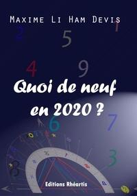 Ham devis maxime Li - Quoi de Neuf en 2020 ? - 2019.