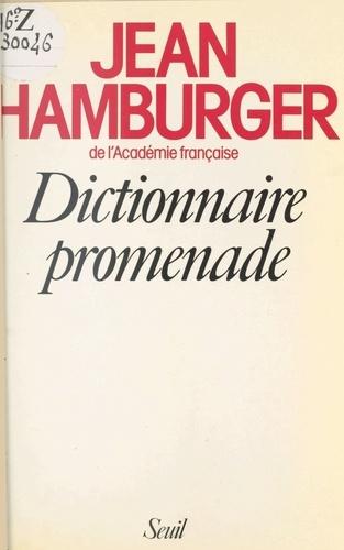Dictionnaire promenade