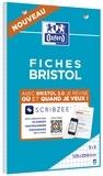 HAMELIN - Bloc de fiches Bristol 2.0 perforées 125x200 30 feuilles Q5x5
