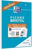 HAMELIN - Bloc de fiches Bristol 2.0 perforées A5 30 feuilles Q5x5