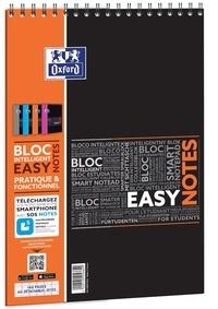 HAMELIN - Bloc Easynotes feuilles perforées grands carreaux séyès - A4 21x29,7cm - 160 pages