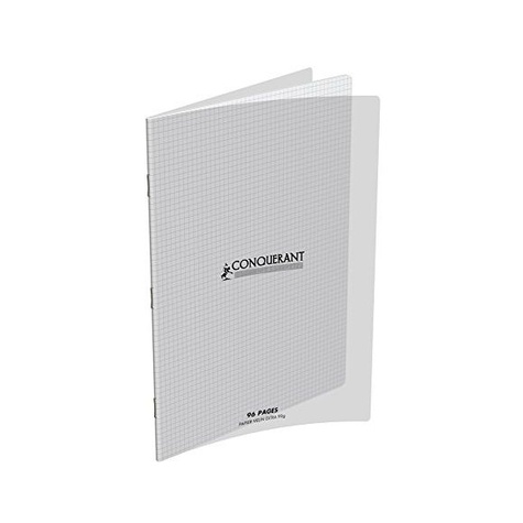 HAMELIN - CAHIER AGRAFE 240X320  POLYPRO INCOLORE 90G 96P Q5/5