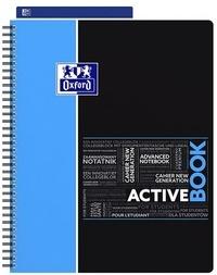 HAMELIN - Cahier Etudiant Activebook ligné - A4+ - 160 pages
