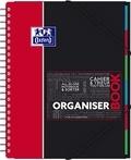 HAMELIN - Cahier Organiserbook - 24,5x31 cm - petits carreaux - 80 feuilles / 160 pages