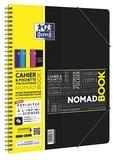 HAMELIN - Cahier Oxford Etudiant Nomadbook - feuilles grands carreaux séyès - A4 21x29,7cm - 160 pages
