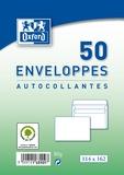 HAMELIN - Enveloppe Blanche Oxford C6 - paquet de 50 enveloppes