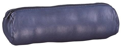 HAMELIN - Fourre-tout cuir rond Encre 22 cm