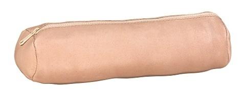 HAMELIN - Fourre-tout cuir rond Nude 22 cm