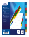 HAMELIN - Intercalaires A4 polypro 12 positions