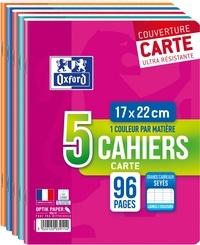 HAMELIN - Lot de 3 cahiers + 2 gratuits grands carreaux séyès - 17x22 cm - 96 pages