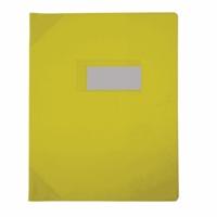 HAMELIN - Protège-cahier opaque 17x22cm - jaune